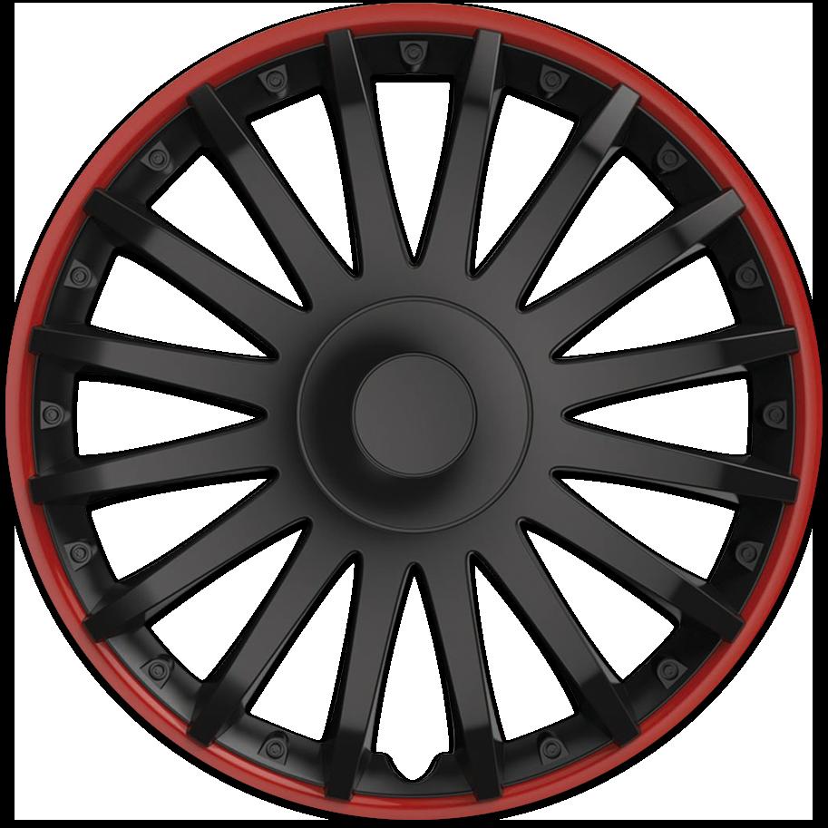 CRYSTAL schwarz-rot