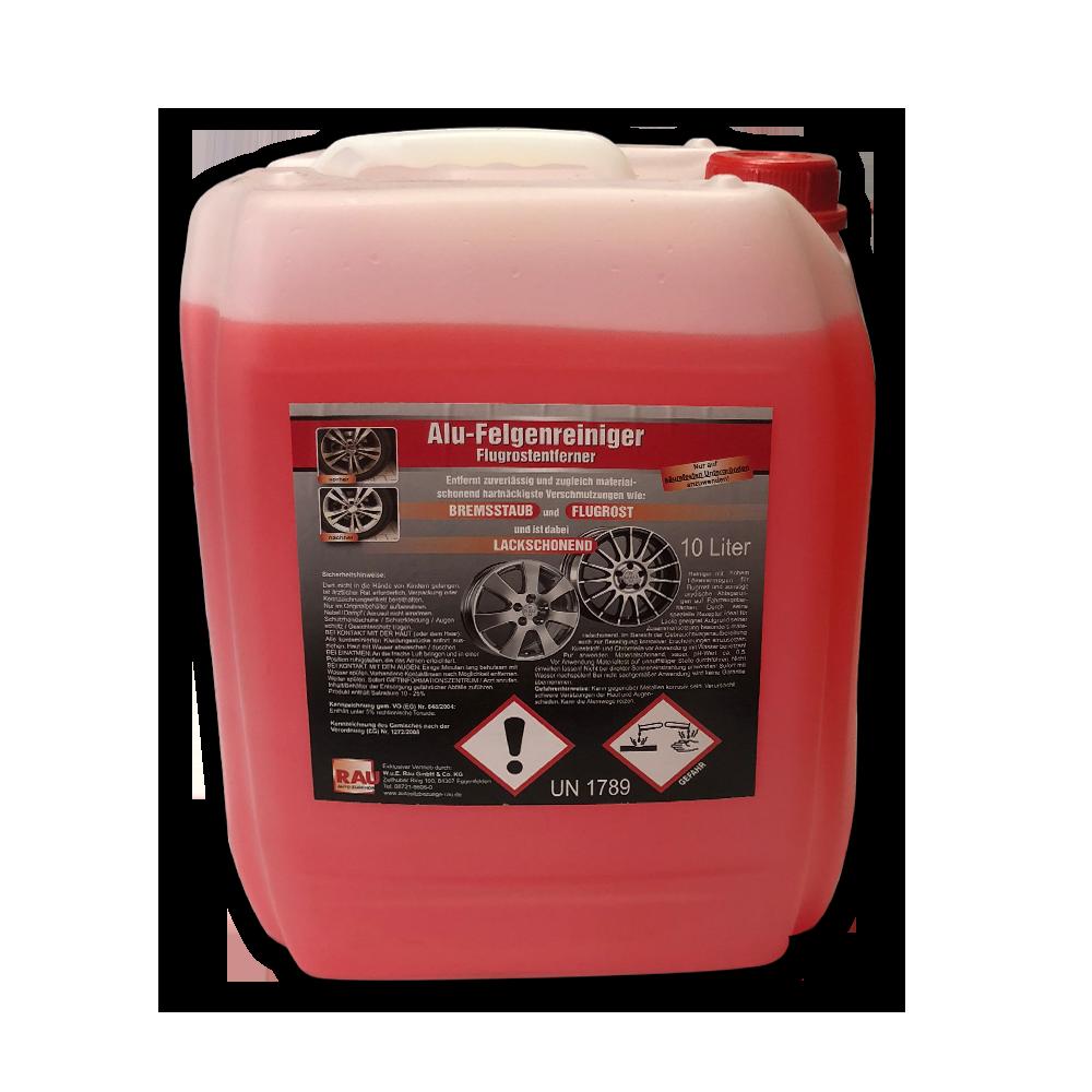 ALUFELGEN GRUNDREINIGER 10 Liter-Kanister