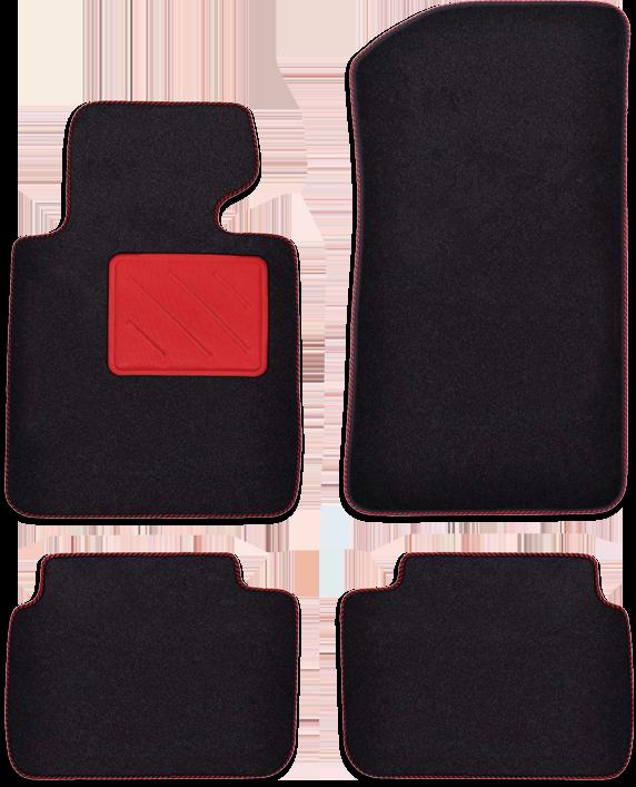 Fußmatte Highlight rot