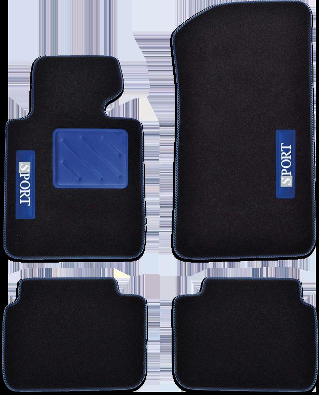 SPOTLIGHT (650 g/m²) blau/schwarz