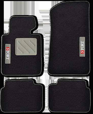 SPOTLIGHT (650 g/m²) silber/schwarz
