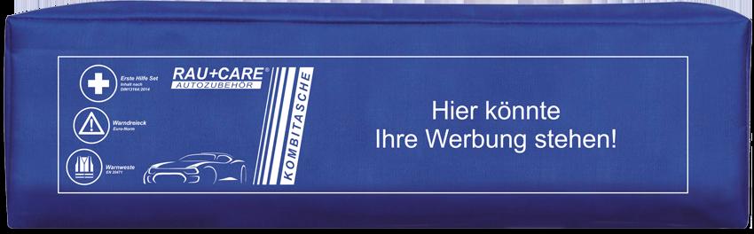 KOMBITASCHE TRIO blau Kundenspezifisch