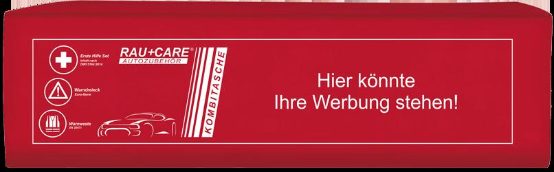 KOMBITASCHE TRIO rot Kundenspezifisch