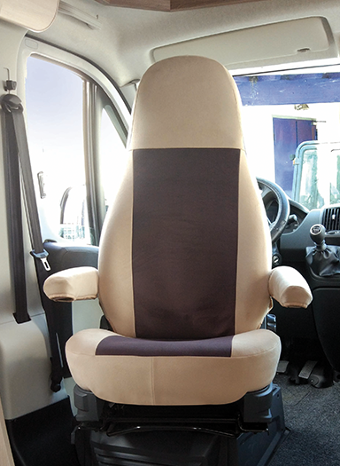 PASSFORM-SITZBEZUG CAPTAIN CHAIR
