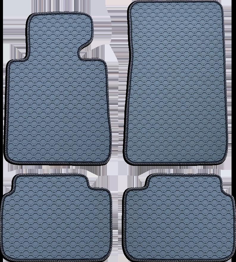Fußmatte Octagon grau