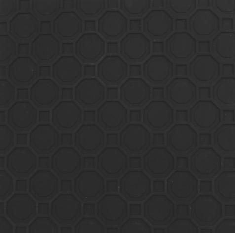 OCTAGON PLATTE schwarz